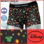 BODYWILD ボディワイルド ミッキーマウス Mickey ボクサーブリーフ ディズニー Disney グンゼ ボクサーパンツ 日本製 ボディーワイルド BODY WILD