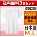 3枚セット 快適工房 やさしい温もり 半袖U首Tシャツ グンゼ KH6016-SET
