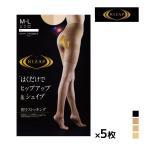 ショッピンググンゼ 5枚セット RIZAP ライザップ ヒップアップ シェイプ 着圧ストッキング グンゼ GUNZE パンティストッキング パンスト RZ-101-SET