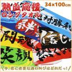 熱血応援シリーズ ロングタオル スポーツタオル SG4670