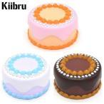 スクイーズ ホールケーキ Kiibru|可愛い ふわふわ やわらか マスコット|食玩 食品サンプル 低反発|甘い香り付き ビッグサイズ 選べる全3種