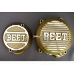 BEET 日本ビート工業 ポイントカバー(ゴールド)+ジェネレーターカバー(ゴールド) ゼファー400 ゼファーカイ