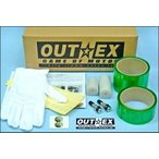 OUTEX[アウテックス]  クリアチューブレスキット/リトルカブ(1輪分)フロント14×1.60&リア14×1.60