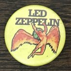 レッド・ツェッペリン 缶バッジ Led Zeppelin Swan Song Badge Band Hard Rock Zep