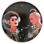 ロッキー・ホラー・ピクチャー・ショー リフ・ラフ&マジェンダ 缶バッジ Rocky Horror Picture Show Riff Raff & Magenta Badge 映画 Movie