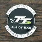 マン島 TTレース ピンバッジ ブラック ピンズ ISLE OF MAN TT Race Pin アイルオブマン
