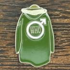 ザ・フー モッズコート ピンバッジ The Who Mods Coat Pin 四重人格 クアドロフェニア さらば青春の光 Mod Mod's pins