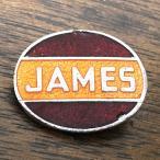 JAMES Cycle ロゴ ピンバッジ ジェームズ サイクル Pin 英車 旧車 vintage ビンテージ biker バイク バイカー