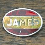 ジェームズ サイクル ロゴ ピンバッジ JAMES Cycle Logo Pin 英車 旧車 ビンテージ バイク バイカー Vintage Biker UK England