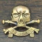 デス オア グローリー ビンテージ ピンバッジ DEATH OR GLORY Vintage SKULL Pin スカル 骸骨 髑髏 WWI Pin 17th / 21st LANCERS