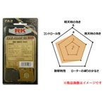 RKジャパン チャンプRS(87)用フロント・ブレーキパッド(ファインアロイ55/セミメタル) 822FA5