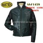 BATES ベイツ SA-F1459  シンセティックレザージャケット グリーン