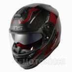 【在庫あり】WINS A-FORCE RS FLASH アイアンレッド インナーシード付き カーボン フルフェイスヘルメット