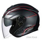 【3月発売予定】 OGKカブト ASAGI BEAM フラットブラック ジェットヘルメット オープンフェイス