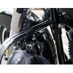 キジマ KIJIMA HD-05143 ヘルメットロック 32φエンジンガード取付用 ブラック ハーレー ダイナ スポーツスター ソフテイル ヘルメットホルダー 【ハーレー】