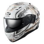 【8月下旬発売予定】OGKカブト カムイ3 KAMUI3 ジャグ JAG パールホワイトゴールド フルフェイスヘルメット