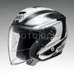 ショッピングFORCE SHOEI J-FORCE4 BRILLER ジェットヘルメット TC-6 ホワイト/ブラック ショウエイ