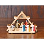 ドイツ木工芸品 キリストのご降誕 アーチ
