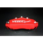 WEBER SPORTS ウェーバースポーツ キャリパーカバー XR 赤 SC430 UZZ40 リア用