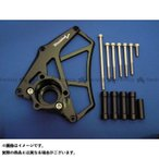 WOODSTOCK フロントスプロケットカバー カラー:ブラック ZX-14R ZZR1400