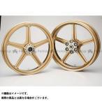 BITO R&D マグネシウム鍛造ホイール セット MAGTAN JB1 フロント:3.00-18/リア:4.00-18 カラー:ゴールド CB75…