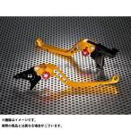 U-KANAYA スタンダードタイプ ロングアルミビレットレバーセット レバー:ゴールド アジャスター:ブラック ZZR400 ZZR600