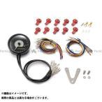 DAYTONA VELONA 電気式タコ&スピードメーター φ80 ステンレスボディ ホワイトLED タイプ:15000rpm 汎用