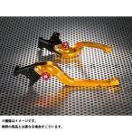 【特価品】ユーカナヤ ムルティストラーダ1100 Rタイプ 可倒式 アルミ削り出しビレットレバー(レバーカラー:ゴールド) カラー:調整アジャスター…