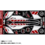 MOTOGRAFIX ボディパッド Rear ヤマハ タイプ:RY016WR FZ8
