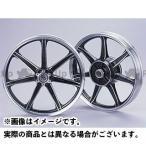 【無料雑誌付き】ワイズギア SR400 キャストホイールセット(切削ブラック) Y'S GEAR