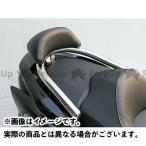 WirusWin フォルツァ(MF10)用バックレスト付き 38φタンデムバー タイプ:ブライアントタイプ バックレストサイズ:スモール フォルツァ