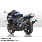 R's GEAR スリップオン ワイバン サイレンサー:カーボン ZZR1400