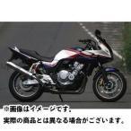 Realize Racing Aria ステンレス スリップオンマフラー テールタイプ:TypeS(スラッシュエンド) 付属:キャタ無 CB400S…
