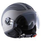 【モモデザイン/MOMO DESIGN】 AVIO PRO(アヴィオ プロ)マットグレイ×ダークグレイ ヘルメット バイク 【送料無料】