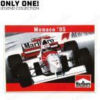 (ONLY ONE LEGEND COLLECTION)マクラーレン MP4/10B ナイジェル・マンセル 1995 モナコGP マルボロ発行 ステッカー