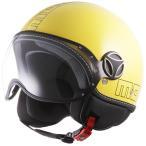 バイク ヘルメット ジェットヘルメット MOMO モモデザイン FIGHTER GLAM イエロー ヘルメット バイク アウトレット ■