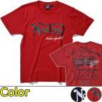 プリントロゴT ノートンモーターサイクル(Norton)杢調刺繍 ロゴ Tシャツ(モーターサイクル バイク バイカー)(あすつく対応/まとめ買いで送料無料)