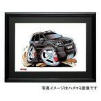 【KOOLART】(P1551)ボルボXC90(黒)のイラスト