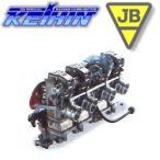JB-POWER ケイヒン FCRキャブレター カワサキ Z1、Z2: H/Z ブラックアルマイト 39φ BITO R&D 304A39-135
