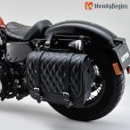 HenlyBegins アメリカン サドルバッグ 12L ダイヤ柄 93325 デイトナ ヘンリービギンズ