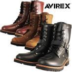 Boots - AVIREX AV2100 YAMATO サイドジッパー式 ライダースブーツ