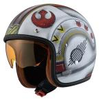 HJC HJH126 FG-70s X-WING ファイターパイロット ジェットヘルメット 「STAR WARS」オフィシャル限定グラフィック