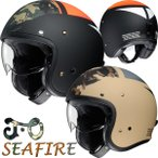 SHOEI J・O SEAFIRE(ジェイ オー シーファイアー) J.O スモールジェットヘルメット 数量限定特価