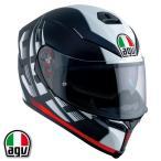 AGV K-5 S DARKSTORM フルフェイスヘルメット マットブラック/レッド