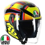 AGV K-5 JET SOLELUNA ジェットヘルメット バレンティーノ・ロッシ レプリカモデル