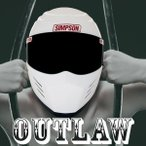 シンプソン アウトロー バイク用フルフェイスヘルメット SIMPSON OUTLAW