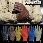 パワーエイジ パンチジップグローブ POWERAGE PGM-385 レザーグローブ