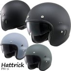 ショッピングデイトナ デイトナ Hattrick(ハットトリック) パイロットタイプ ジェットヘルメット PH-1