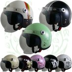 Street Alice (ストリート アリス) QP-2 レディースサイズ スモールロージェットヘルメット リード工業