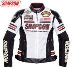 シンプソン レディースライン メッシュジャケット(ホワイト) SJ-7115L